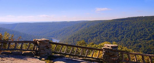 Picnic at scenic Coopers Rock!